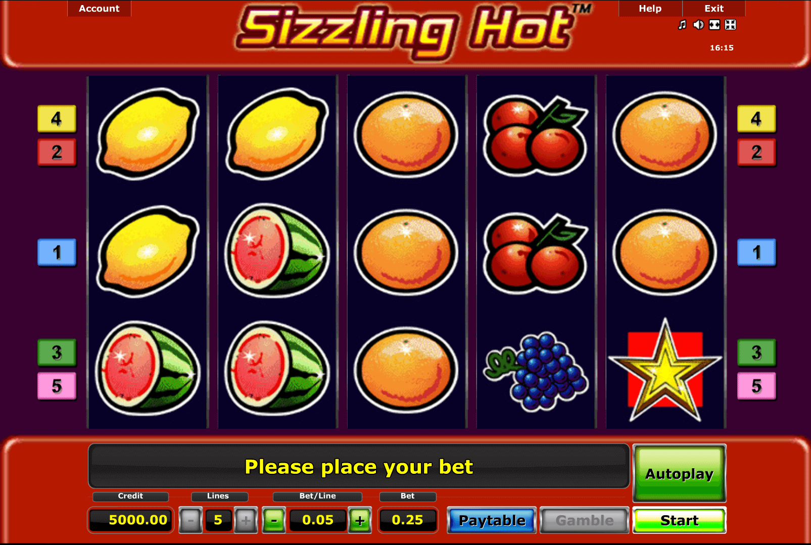 Play Sizzling Hot Deluxe Online | Grosvenor Casinos